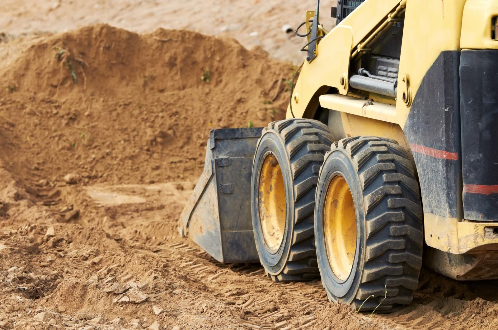 Roboty ziemne, prace budowlane